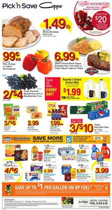 Copps deals in the Madison WI weekly ad