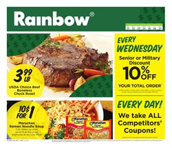 Governor's Square Shopping Center deals in the Rainbow weekly ad in Bear DE