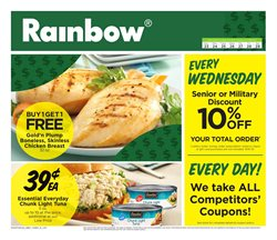 Rainbow deals in the Crown Point IN weekly ad
