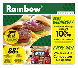 Rainbow deals in the Valparaiso IN weekly ad