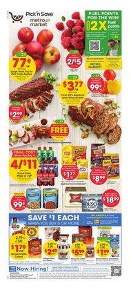 Metro Market deals in the Metro Market catalog ( 1 day ago)