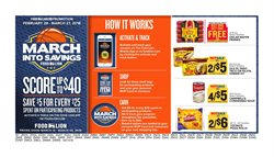 Pizza deals in the Food Lion weekly ad in Savannah GA