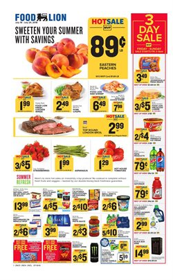 Pasta deals in the Food Lion weekly ad in Savannah GA