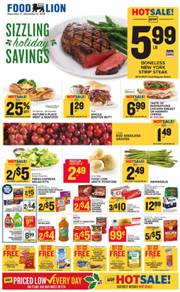 Food Lion Charlotte Christmas Ads Coupons December