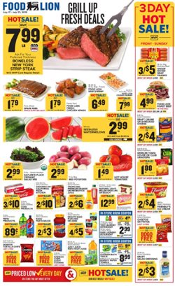 Food Lion deals in the Richmond VA weekly ad