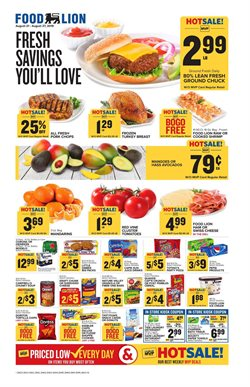 Food Lion deals in the Washington-DC weekly ad