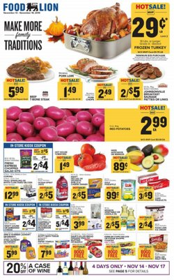 Food Lion deals in the Laurel MD weekly ad