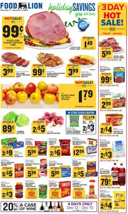 Food Lion deals in the Knoxville TN weekly ad