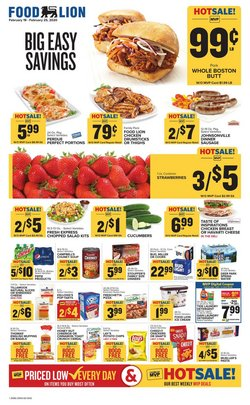 Grocery & Drug offers in the Food Lion catalogue in Burlington NC ( Expires today )