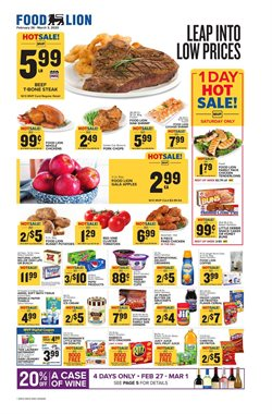 Food Lion catalogue in Upper Marlboro MD ( Published today )