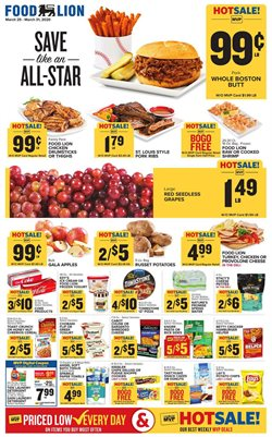 Food Lion catalogue in Baltimore MD ( Expires today )