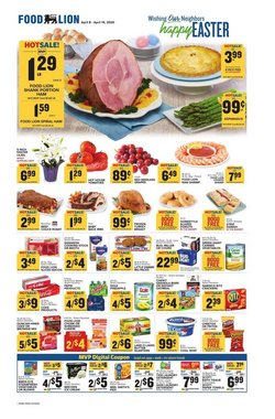 Food Lion catalogue in Whittier NC ( 1 day ago )