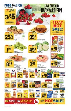 Food Lion catalogue in Rockville MD ( 1 day ago )