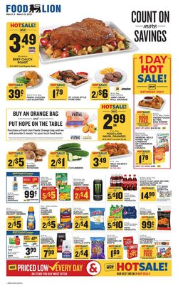 Food Lion catalogue ( 2 days ago )