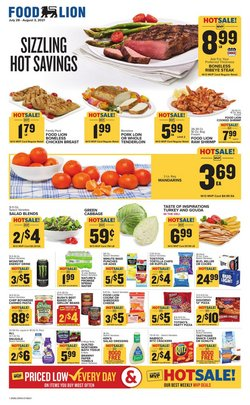 Grocery & Drug deals in the Food Lion catalog ( Published today)