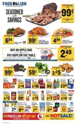 Food Lion catalogue ( 3 days left )