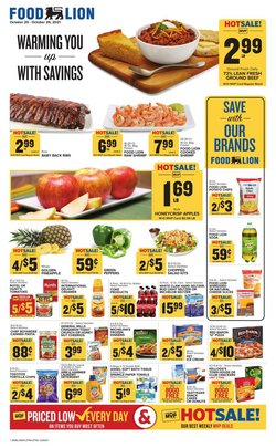 Grocery & Drug deals in the Food Lion catalog ( Expires tomorrow)