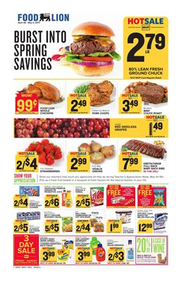 Food Lion deals in the Sterling VA weekly ad