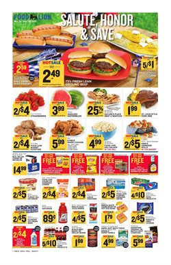 Barbecue deals in the Food Lion weekly ad in Sterling VA