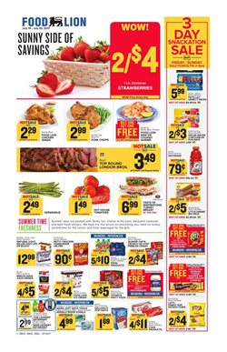 Pizza deals in the Food Lion weekly ad in Sterling VA