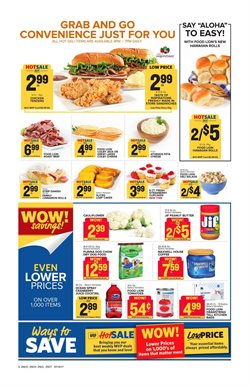 Sandwiches deals in the Food Lion weekly ad in Sterling VA