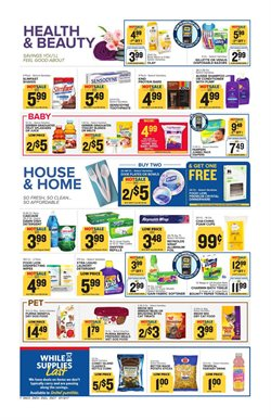 Shampoo deals in the Food Lion weekly ad in Sterling VA