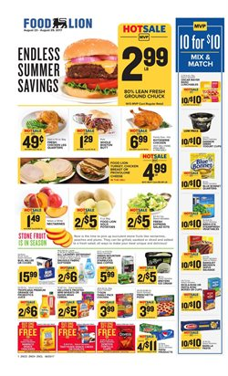 Food Lion deals in the Charlotte NC weekly ad