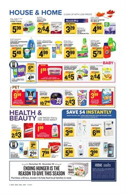 Fabric softener deals in the Food Lion weekly ad in Newark DE