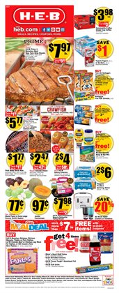 Grocery & Drug deals in the H-E-B weekly ad in Humble TX