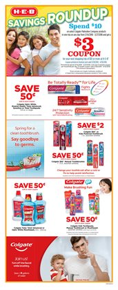 Deodorant deals in the H-E-B weekly ad in Humble TX
