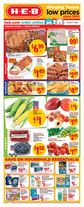 H-E-B deals in the Beaumont TX weekly ad