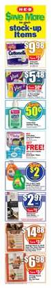 Tide deals in the H-E-B weekly ad in Humble TX