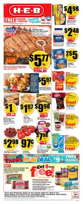 Grocery & Drug deals in the H-E-B weekly ad in Sugar Land TX