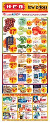 Popcorn deals in the H-E-B weekly ad in San Antonio TX