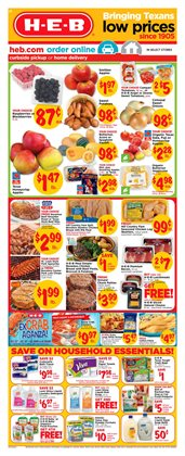 H-E-B deals in the San Antonio TX weekly ad