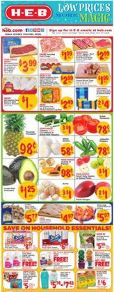 H-E-B deals in the Granbury TX weekly ad