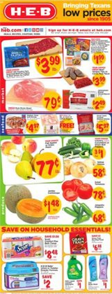 Grocery & Drug deals in the H-E-B weekly ad in Houston TX