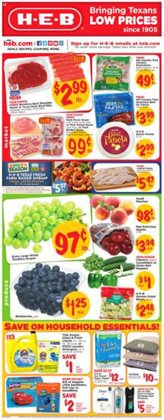 H-E-B deals in the Austin TX weekly ad