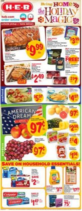 H-E-B deals in the Pasadena TX weekly ad