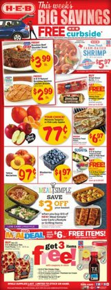 Grocery & Drug deals in the H-E-B catalog ( Expires today)