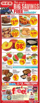 Grocery & Drug deals in the H-E-B catalog ( 3 days left)