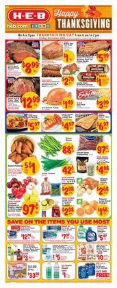 H-E-B deals in the Houston TX weekly ad