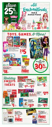 Dolls deals in the H-E-B weekly ad in Houston TX