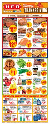 H-E-B deals in the Brownsville TX weekly ad