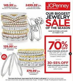 JC Penney deals in the Savannah GA weekly ad