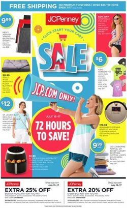Department Stores deals in the JC Penney weekly ad in Saginaw MI