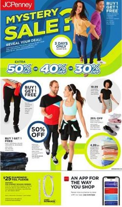 Department Stores deals in the JC Penney weekly ad in Whittier CA
