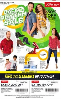 Department Stores deals in the JC Penney weekly ad in Fullerton CA