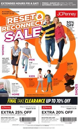 JC Penney deals in the New York weekly ad