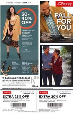 JC Penney deals in the Erie PA weekly ad